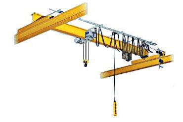 Однобалочный опорный электрический мостовой кран