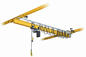 Кран мостовой электрический однобалочный подвесной