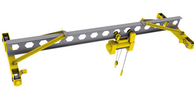 Мостовой однобалочный электрический кран