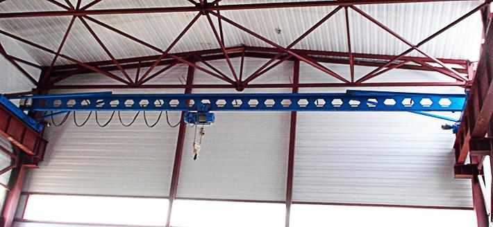 Кран мостовой электрический 5 т (тонн)