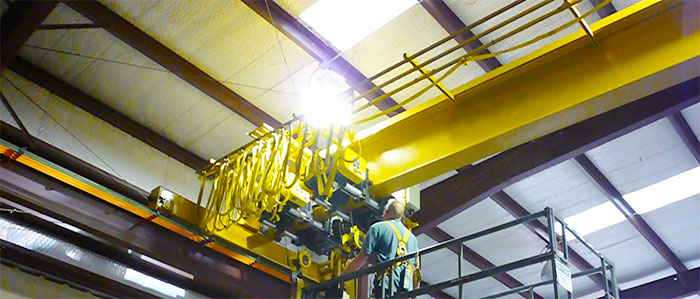 Малый ремонт мостовой кран-балки