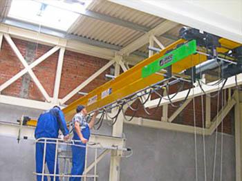 Процедура ремонта кран-балки