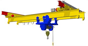Кран мостовой двухбалочный подвесной грузоподъемностью 100 тонн: серьезная техника для серьезных задач