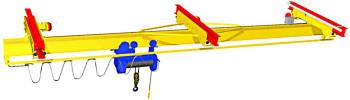 Кран мостовой однобалочный грузоподъемностью 5 тонн