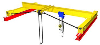 Кран мостовой ручной однобалочный опорный: надежный помощник на производстве