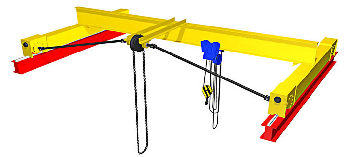 Конструкции привода кранов ручных опорных